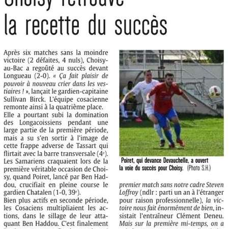 Le courrier picard du lundi 23 avril 2018
